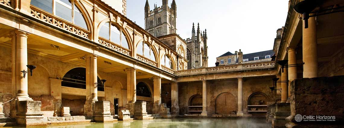 Bath - guided taxi tours to Bath from Bath and the West of England