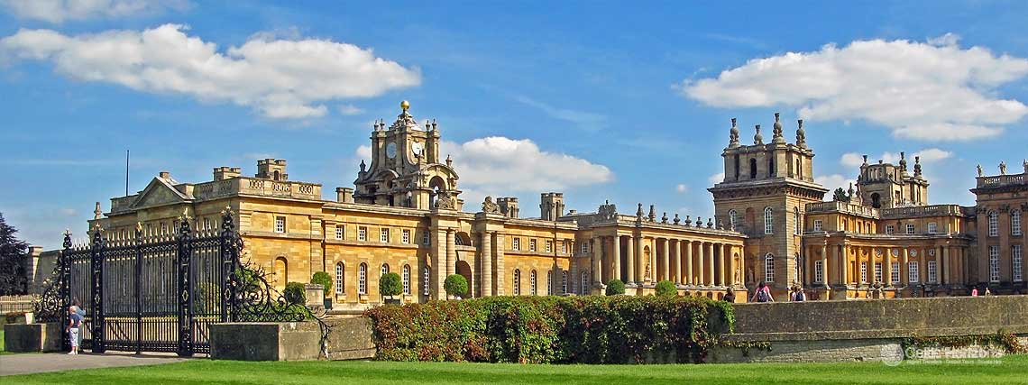 Blenheim Palace - guided taxi tours to Blenheim Palace from Bath and the West of England
