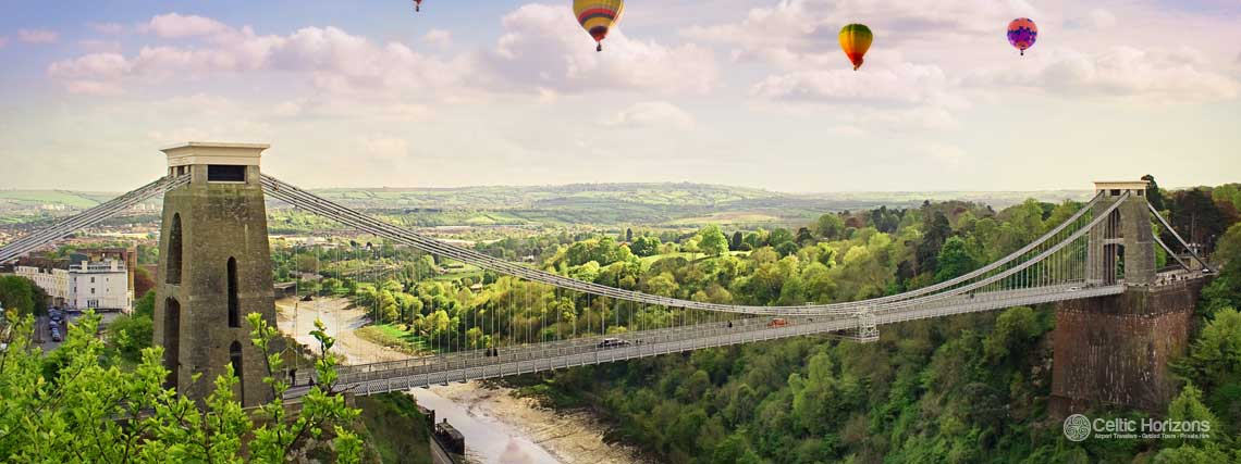 Bristol - guided taxi tours to Bristol from Bath and the West of England