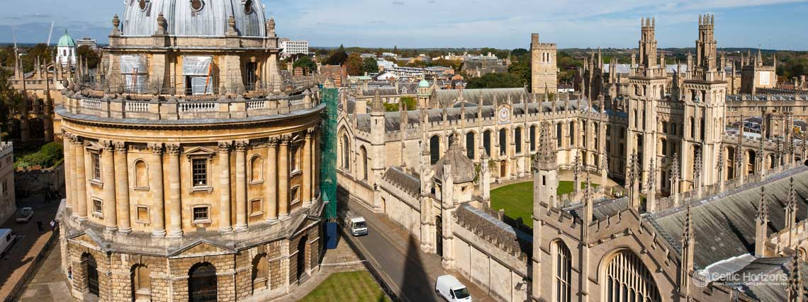 Oxford - guided taxi tours to Oxford from Bath and the West of England